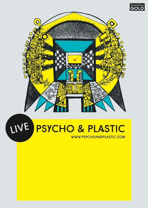 psycho & plastic poster