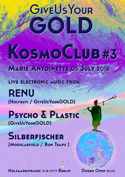 Kosmoclub 3 Poster 600